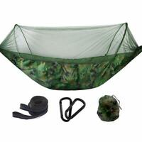 Outdoor Automatic Quick Open Hammock Mosquito Net Hammocks For Camping 250x120CM