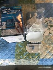 Used, Waterpik WP-100 Ultra Water Flosser - White- With 6 Tips