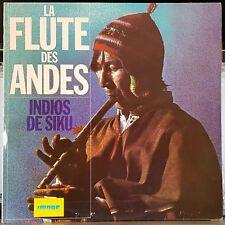 Indios De Siku - La Flute Des Andes - 1977 world music flute LP record