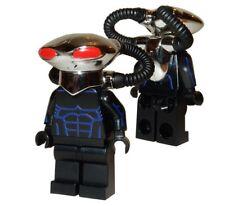 **NEW** LEGO Custom Printed CHROME BLACK MANTA - DC Universe Minifigure