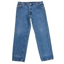 Vintage Levi's 555 Women Blue Low Rise Guy's Fit Jeans 18 Reg M / W36 L34
