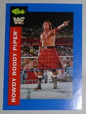 Rowdy Roddy Piper 1991 Classic WWF Superstars Card #98 WWE Pro Wrestling Hot Rod