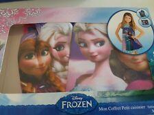 Disney Frozen Little Baker Chef Apron Set 3+ Years bnwt Christmas Gift 👩🍳🎂🎄