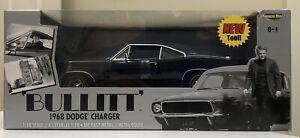 RARE 1968 Dodge Charger Bullitt Steve McQueen ERTL American Muscle1:18  RARE