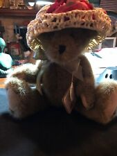 """Boyds Plush #912657 Adeline LaBearsley 12"""", New/Tag From Retail Store, Jointed"""
