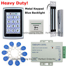 USA New 125KHZ RFID+Password Door Access Control System+Waterproof Magnetic Lock