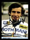 Jacky Ickx Autogrammkarte Formel 1 Vize Weltmeister