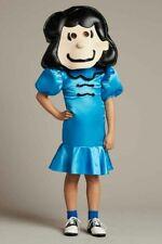 NIP ~ Chasing Fireflies Girls Peanuts Lucy Costume ~ Size 6 Wishcraft Halloween