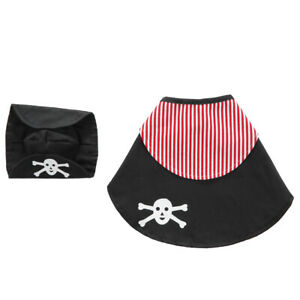 Halloween Pet Funny Cosplay Clothes Dogs Cats 2 PCs Cute Clothes With Wizard Hat