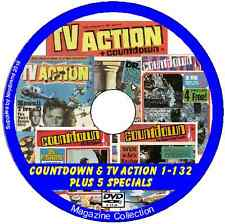 TV Action Huge Choice Of Issues Doctor Who Countdown Gerry Anderson
