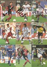signiert-1 Cards aussuchen Panini Collection 97-Freie Auswahl-No Match Attax
