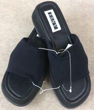 d3a350b29a393b ESNY Black Slide Sandals Clog Platform Flip Flop Shoe Women s Size 8