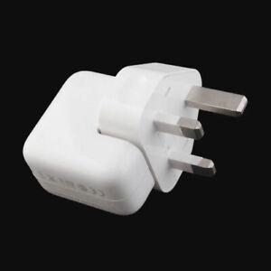 12W Mains Wall Charger Plug 100% CE For i-Phone i-Pad 2,3,4 mini , Samsung   UK