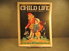 September 1928 Child Life Magazine by Rand McNally & Company Publishers