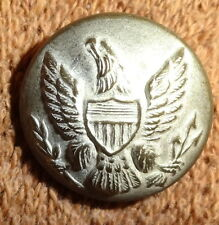 """RARE Vintage RALPH LAUREN Pewter EARLY AMERICAN EAGLE Replica CREST BUTTON 3/4"""""""