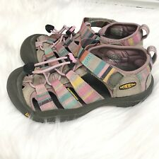 GIRLS YOUTH KEEN NEWPORT H2 SANDALS IN Rainbow Size 2