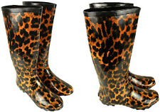 Womens Wellington Boots Ladies Kids Printed Rubber Wellies sizes UK3-UK8 New
