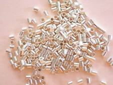 50 Sterling Silver Crimp Beads 2mm x 2mm