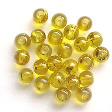400 Amber Drawbench Translucent 4mm Beads Jewellery Making