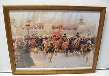 Battle Polish Art Print Jozef Brandt Wyjazd Z Wilanowa Jana III NA Wyprawe