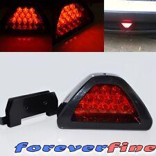 3rd Brake Light JDM Universal F1 style 12 LED Strobe Rear Bumper Tail/Stop Red