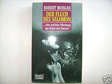 ROBERT MORGAN DER FLUCH DES SALOMON KRIMI HORROR BUCH