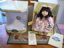 Collectible Memories Genuine Porcelain Doll, Musical. Beautiful