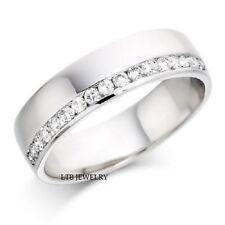 14K SOLID WHITE GOLD DIAMOND WOMENS WEDDING BANDS,DIAMOND ETERNITY WEDDING RINGS