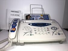 Brother Intellifax 885mc Plain Paper Fax Machine With Message Center Amp Copier