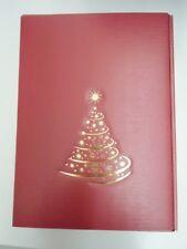 14 x Präsentverpackung aus Pappe für 3 x 0,75 L Wein, Sternenbaum, bordeaux
