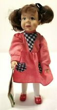 Sarah's Attic Katie Doll w/Storybook a Gold Heart Premier Edition Euc