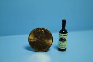 Dollhouse Miniature Replica Stone Meadow Napa Valley Burgundy Wine ~ HR53929