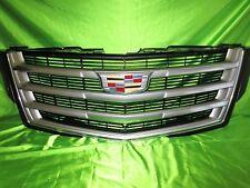 15 18 Cadillac Escalade Grille New GM 23405570 Chrome Black Mesh Sku N3-10