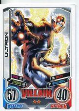 Marvel Hero Attax Series 2 Base Card #168 Ultron