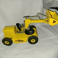 "Nylint toys ""Pettibone Speed Swing"" Yellow Front Loader Mulliken Corp 1950's"