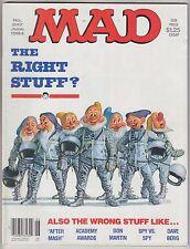 Mad mag 241 June 1984 Right Stuff After MASH Don Martin Dave Berg Al Jaffee