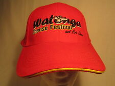Men's Cap WATONGA CHEESE FESTIVAL (Oklahoma) Size: Adjustable [Z164a]