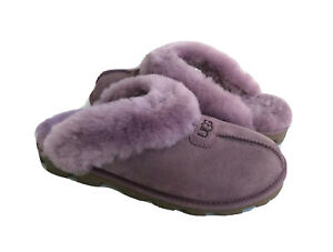 UGG COQUETTE SHADOW SHEARLING LINED MOCASSIN SLIPPERS US 12 / EU 43 / UK 10