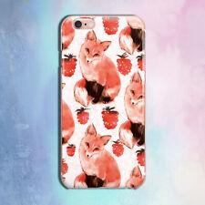 Fox iPhone 6 6s caso iPhone 11 XS Max Cubierta iPhone 7 X 8 Plus Xr XS animal caso