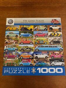 1000 Piece Puzzle VW Gone Places
