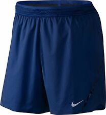 "Mens Nike Aeroswift 5"" Shorts - Lined, Medium - New ~ 717881-455. Gym, Running."