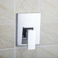 Wall Mount Shower Faucet Control Valve Bath Mixer Bathroom Water Tap Chrome