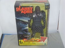 Planet of the Apes / 12 inch / 1/6th Scale Electronic Attar Action Figure / Nmib