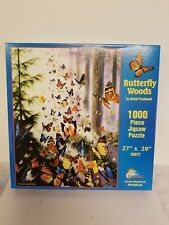 (1883) Butterfly Woods 1000 Pc Jigsaw Puzzle By SunsOut  A-5