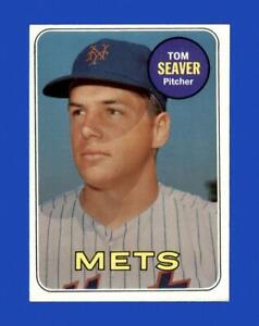 1969 Topps Set Break #480 Tom Seaver EX-EXMINT *GMCARDS*