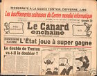 CANARD ENCHAINÉ Birthday Newspaper JOURNAL NAISSANCE 12 SEPTEMBRE SEPTEMBER 1984