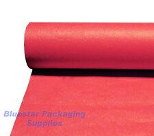 3 X 25m Rojo Banquete Roll Fiesta Navidad Desechables