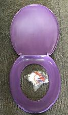 Purple / Grape Retro Toilet Seat Medium Weight 380 x 420mm