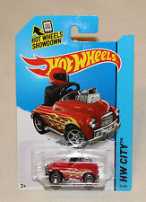 2015 Hot Wheels Hw City #77 Pedal Driver Red New