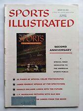 1956 SECOND ANNIVERSARY MILWAUKE ATLANTA BRAVES  ED MATHEWS Sports Illustrated